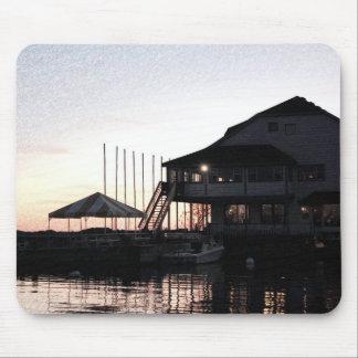 Twilight at lake waterfront, Kingston, Ontario Mouse Pad