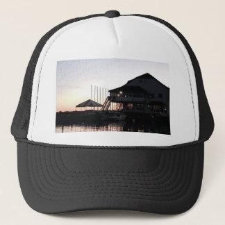 Twilight at lake waterfront, Kingston, Ontario Trucker Hat