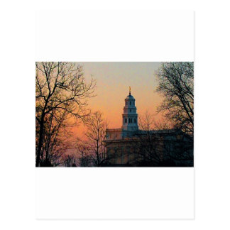 Twilight at the Nauvoo Temple Postcard