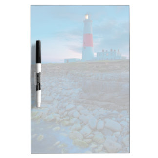 Twilight at the Portland Bill Lighthouse Dry-Erase Board
