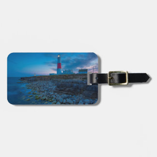 Twilight at the Portland Bill Lighthouse Luggage Tag