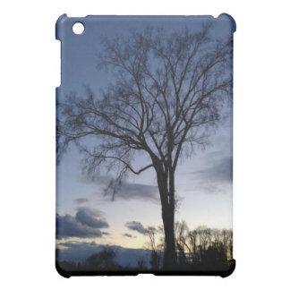 Twilight At The Tree In Winter iPad Case
