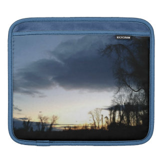 Twilight At The Tree In Winter iPad Sleeve
