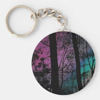 Twilight Basic Round Button Keychain