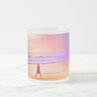 Twilight Beach Walk Mug