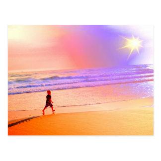 Twilight Beach Walk Postcards