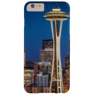 Twilight Blankets The Space Needle And Downtown Barely There iPhone 6 Plus Case