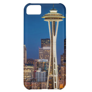 Twilight Blankets The Space Needle And Downtown iPhone 5C Covers