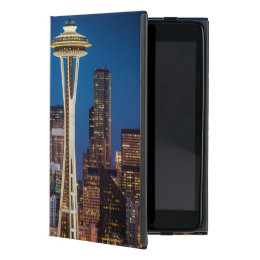 Twilight Blankets The Space Needle And Downtown iPad Mini Case