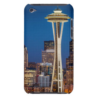 Twilight Blankets The Space Needle And Downtown iPod Touch Case