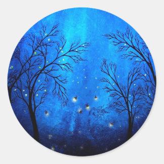Twilight Classic Round Sticker