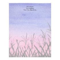 Twilight Corn Field Letterhead