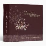 Twilight Dandelion Business Finance Report Binders