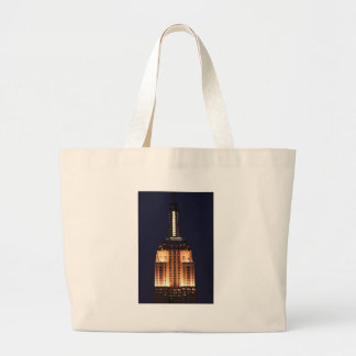 Twilight: Empire State Building lit up Pink - 01 Canvas Bags