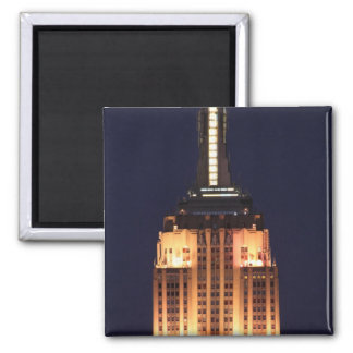 Twilight: Empire State Building lit up Pink - 01 Fridge Magnet
