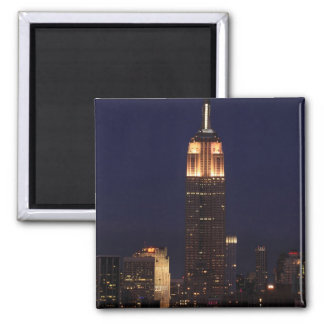Twilight: Empire State Building lit up Pink - 02 Refrigerator Magnets