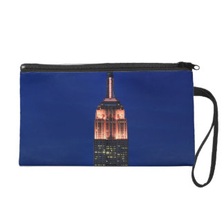 Twilight: Empire State Building lit up Pink - 03 Wristlet Clutch
