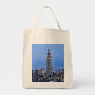 Twilight: Empire State Building lit up Pink - 04 Bag