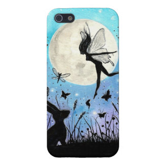 Twilight Faeries and hare iphone case