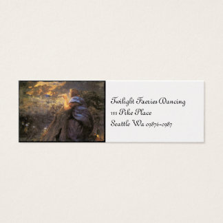 Twilight Faeries Dancing Mini Business Card