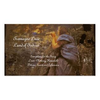 Twilight Fairy Circle Dance Business Card
