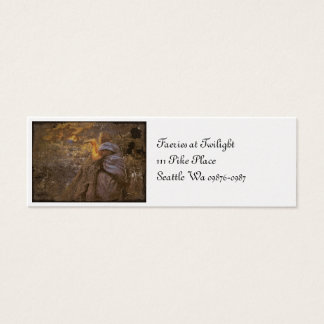 Twilight Fairy Circle Dance Mini Business Card