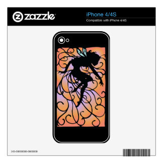 Twilight Fairy Decal For iPhone 4S