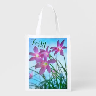 Twilight Fairy Lilies Reusable Bag