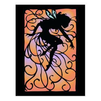 Twilight Fairy Postcard