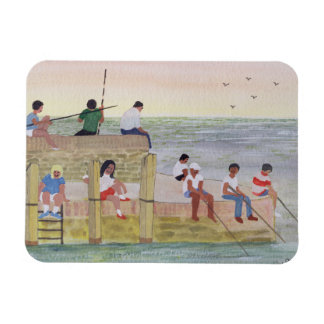 Twilight Fishing 1988 Magnet