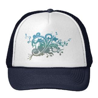 Twilight Floral Flourish Trucker Hats