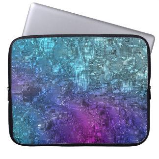 Twilight Geometric Abstract Art Laptop Case Laptop Sleeves