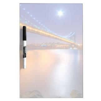 Twilight, George Washington BridgePalisades, NJ. Dry-Erase Boards