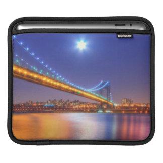 Twilight, George Washington BridgePalisades, NJ. iPad Sleeves
