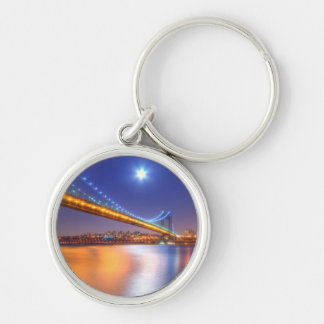 Twilight, George Washington BridgePalisades, NJ. Key Chains