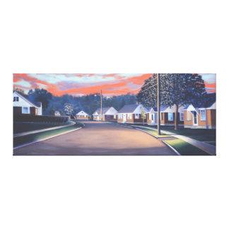Twilight Glow 1997 Canvas Print