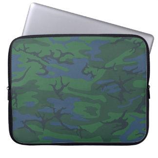 Twilight Green Camo Computer Sleeves