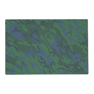 Twilight Green Camo Placemat