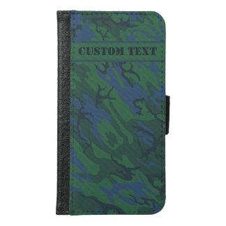 Twilight Green Camo Smartphone Wallet w/ Text