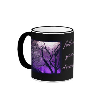 Twilight haze follow your dreams english tea mug