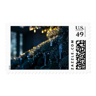 Twilight Icicles Postage Stamps