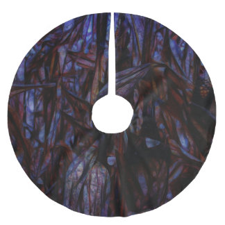 Twilight In a Cornfield Brushed Polyester Tree Skirt