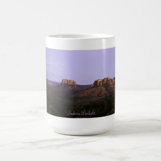 Twilight in Sedona Arizona, The Land of Magic Coffee Mug