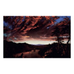Twilight in the Wilderness -Frederick Edwin Church Poster