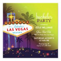 Twilight Las Vegas Bachelor Party Invitation