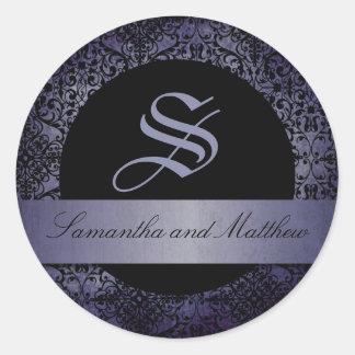 Twilight Monogram Sticker