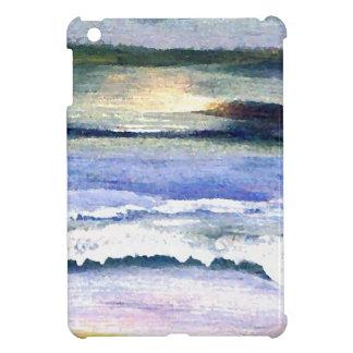 Twilight Ocean Waves Beach Surf Decor Art iPad Mini Covers