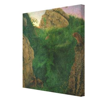 Twilight (oil) canvas print
