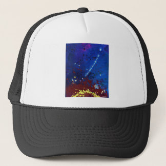 TWILIGHT (outer space art) ~ Trucker Hat