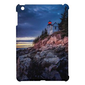 Twilight Over Bass Harbor Lighthouse, Acadia iPad Mini Case